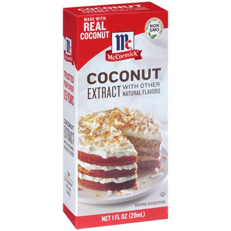 Mccormick  Coconut Extract With Other Natural Flavors  1 Fl  Oz  Box