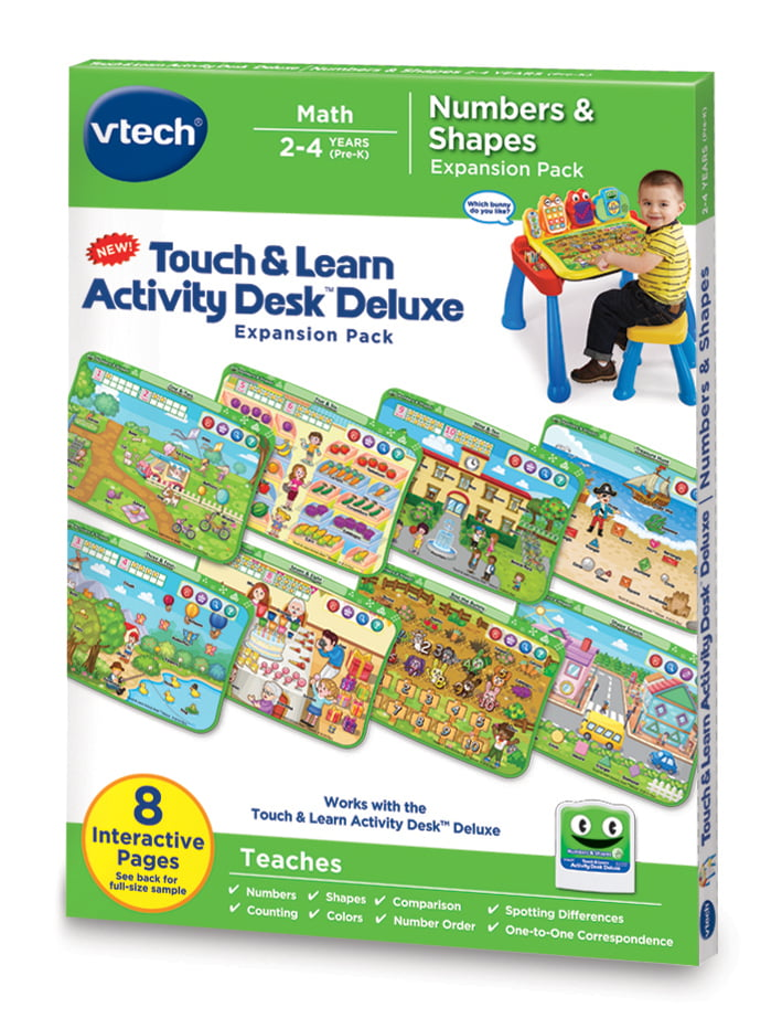 VTech Touch & Learn Activity Desk Deluxe Numbers & Shapes by VTech