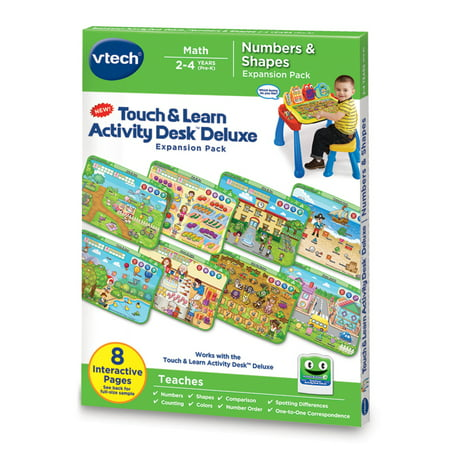 Touch & Learn Activity Desk™ Deluxe - Numbers & Shapes