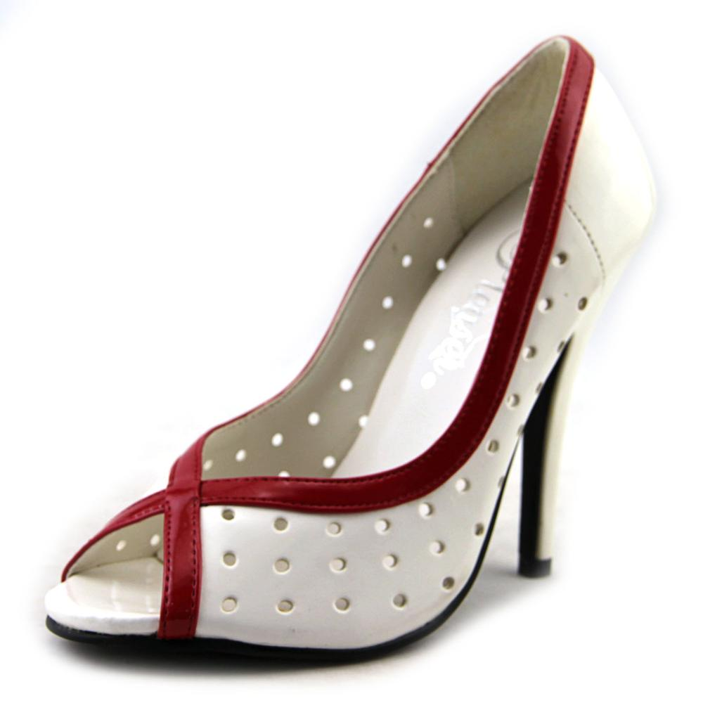 Pleaser Seduce-217   Open-Toe Synthetic  Heels
