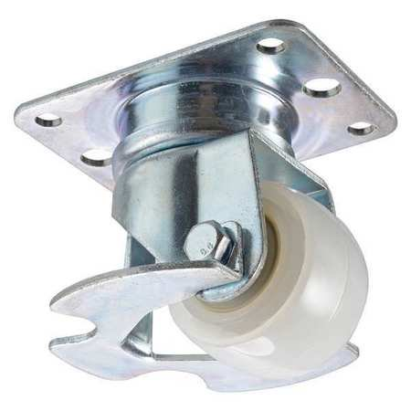 Inverted Air Cargo Swivel Caster Nylon 2 1 2 In  Ksl 065 Ny1l T25