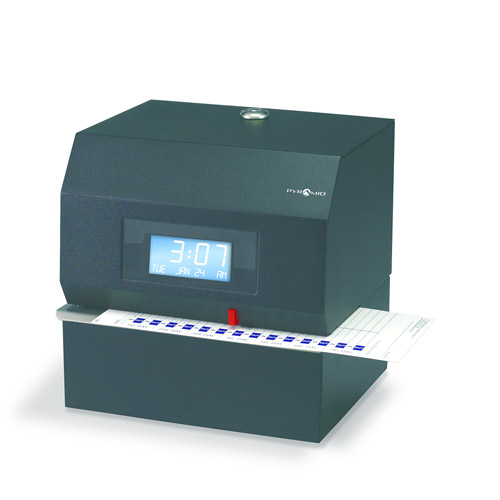 Pyramid 3700HD Heavy Duty Time Clock and Document Stamp