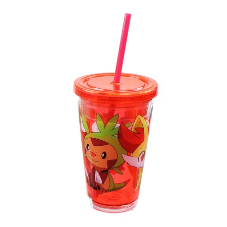 Pokemon Group 18oz Carnival Cup w/ Floating Confetti Pokeballs