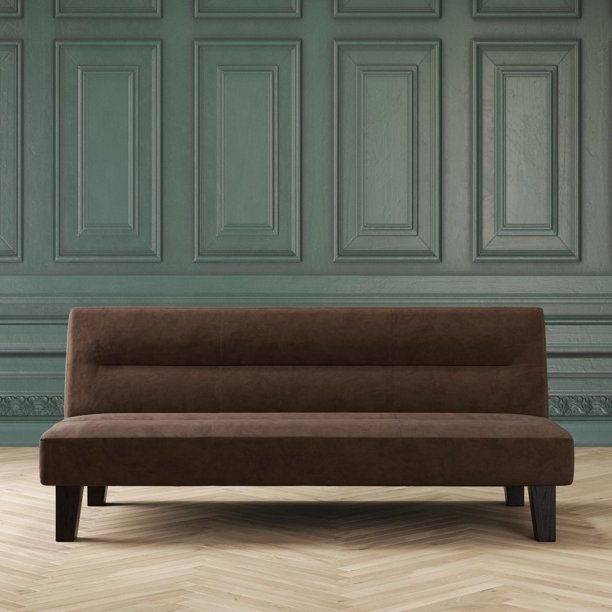 Dhp Kebo Futon Couch With Microfiber