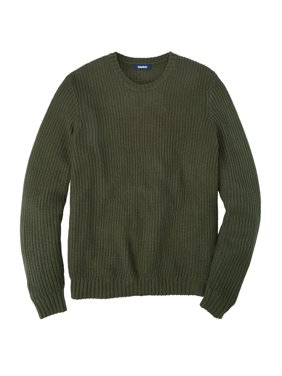 KingSize Men's Wide Width Knit Crewneck Sweater
