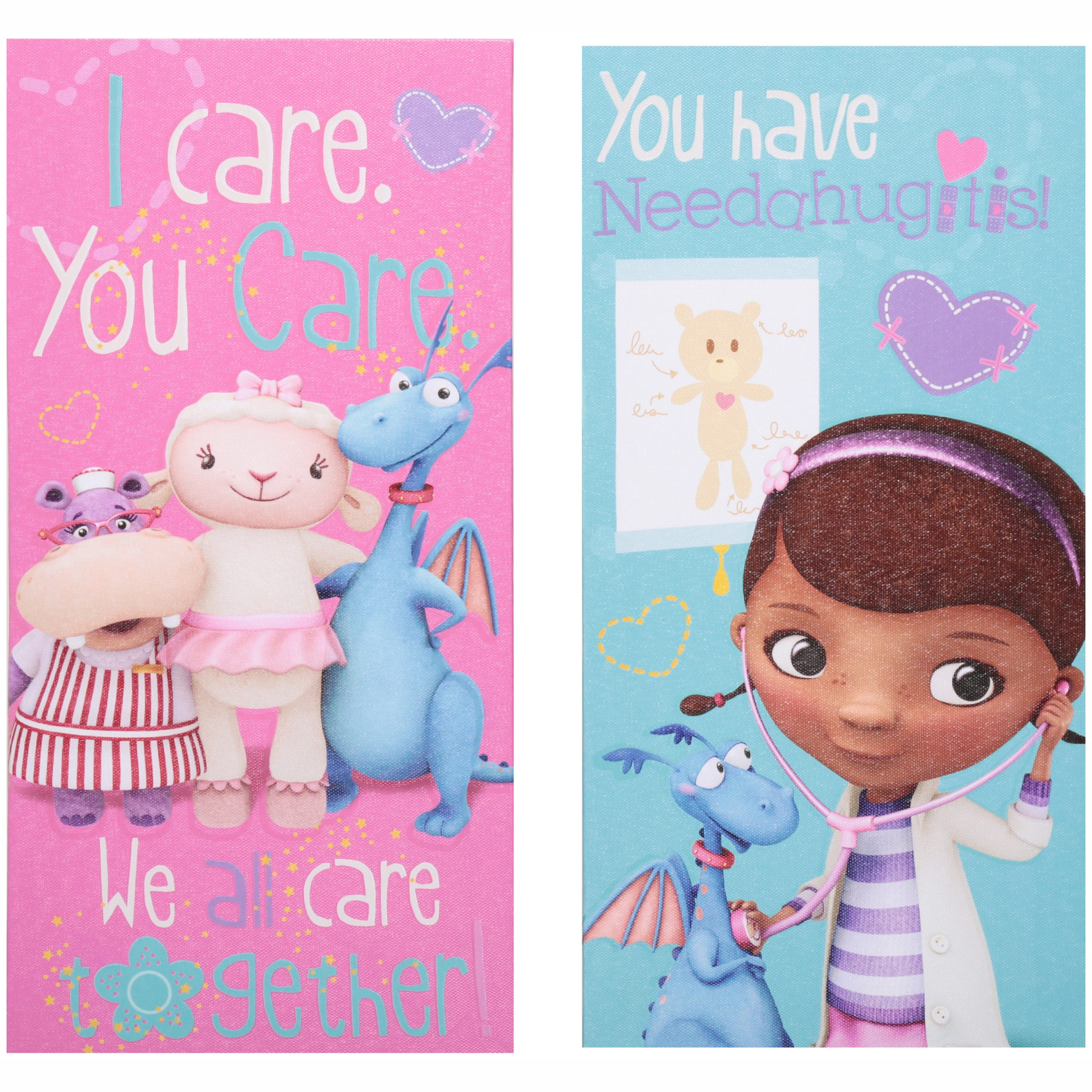 Disney Doc McStuffins Canvas Wall Art 2 pc Pack
