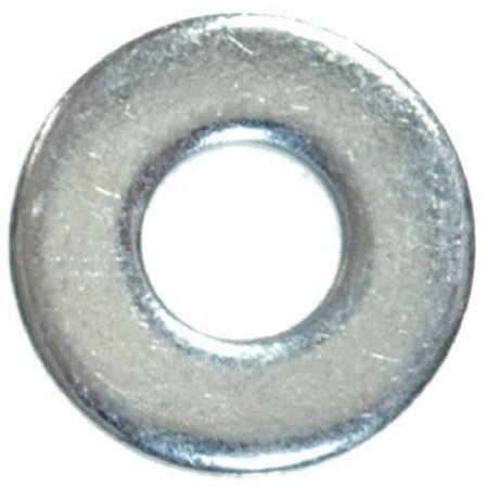 280056 0.25 in. Zinc Plated Steel Sae Flat Washer, 100 Pack - image 1 de 1