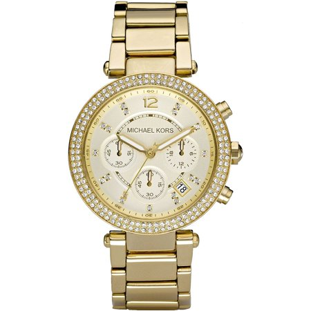 Women's Parker Chronograph Gold-Tone Stainless Steel Watch -