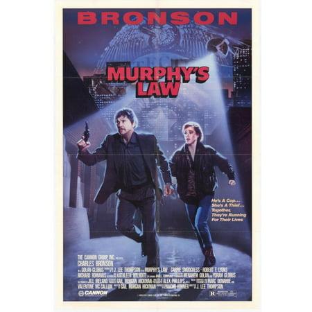 Murphys Law Movie Poster  11 X 17