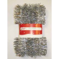Holiday Time 12ft Silver Promotional Garland