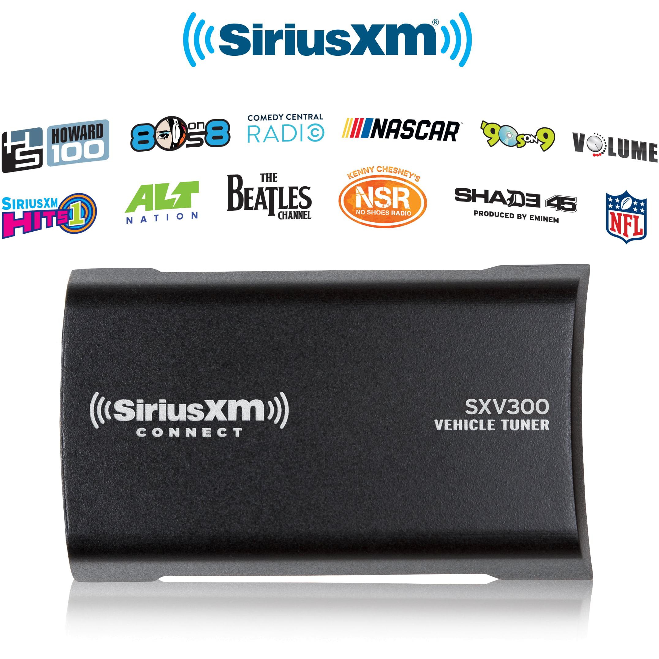 Black SiriusXM Connect Vehicle Tuner Kit for Satellite Radio