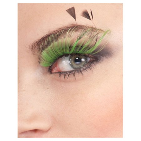 Women's  Long Green Full Fairy False Costume Eyelashes](Green Fairy Outfit)