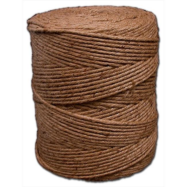 T. W.  Evans Cordage 13-451 4 Poly 28 Jute Twine 50 Pound Many End Reel