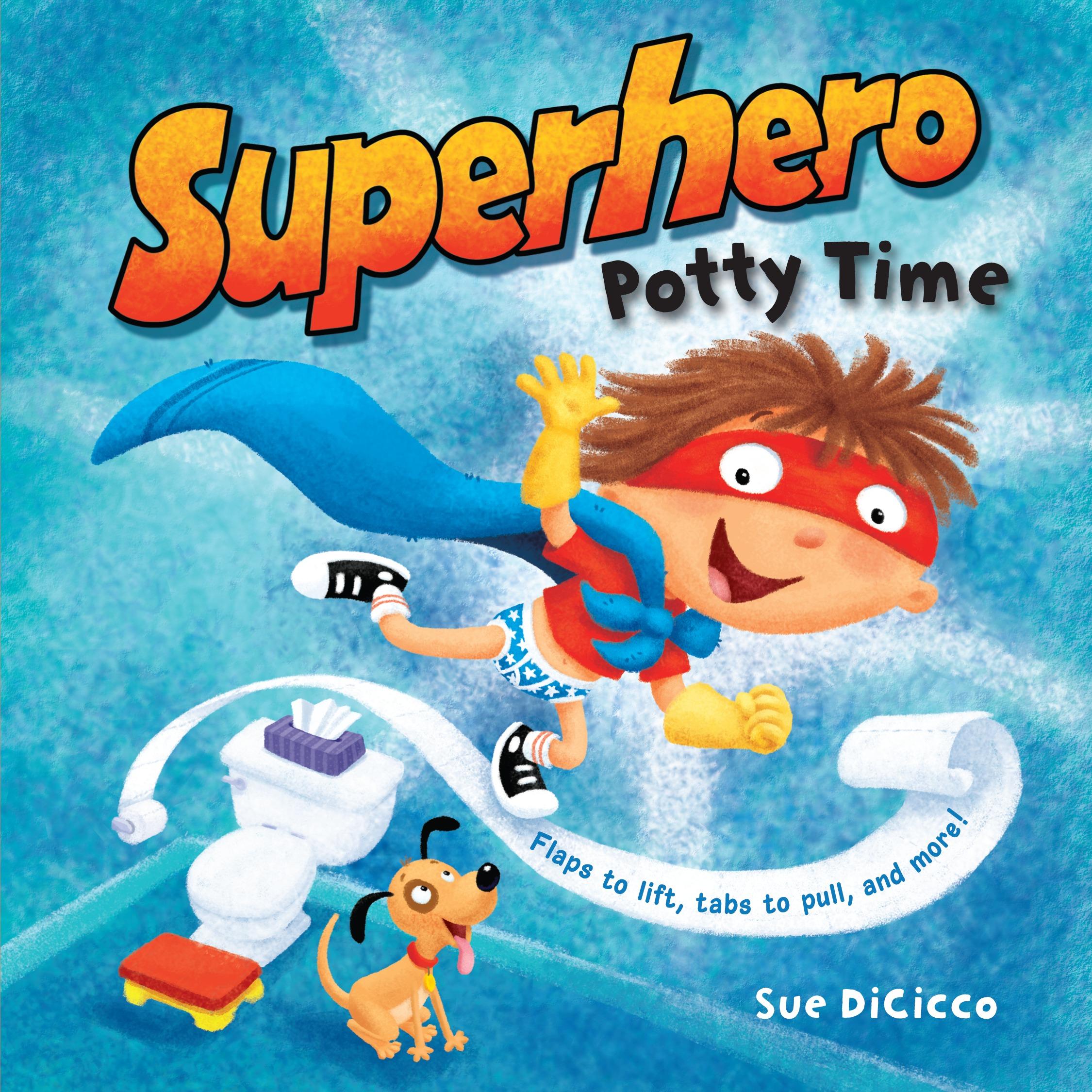Superhero Potty Time (Board Book)