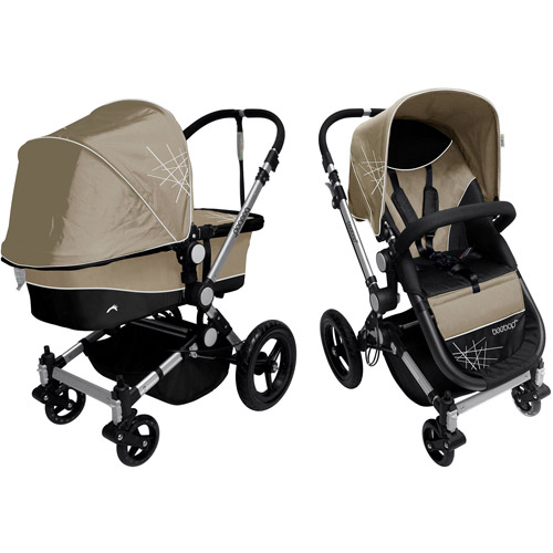 Dream On Me Acrobat Multi-Terrain Stroller & Bassinet, Makado Atmo