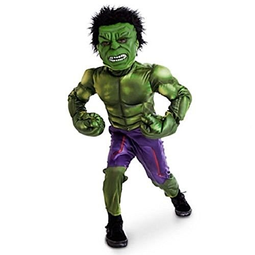 Disney Store The Incredible Hulk Marvel Avengers Boys Costume Size 9-10