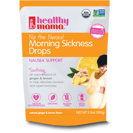 Healthy Mama Nip the Nausea! Morning Sickness Ginger Drops, 3.5 oz