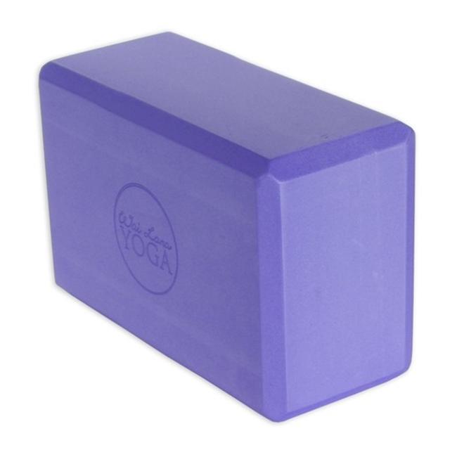 Wai Lana Productions 4 inch Foam Yoga Block