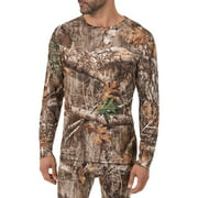 Men's Camo Fitted Baselayer Thermal Underwear Long Sleeve Top