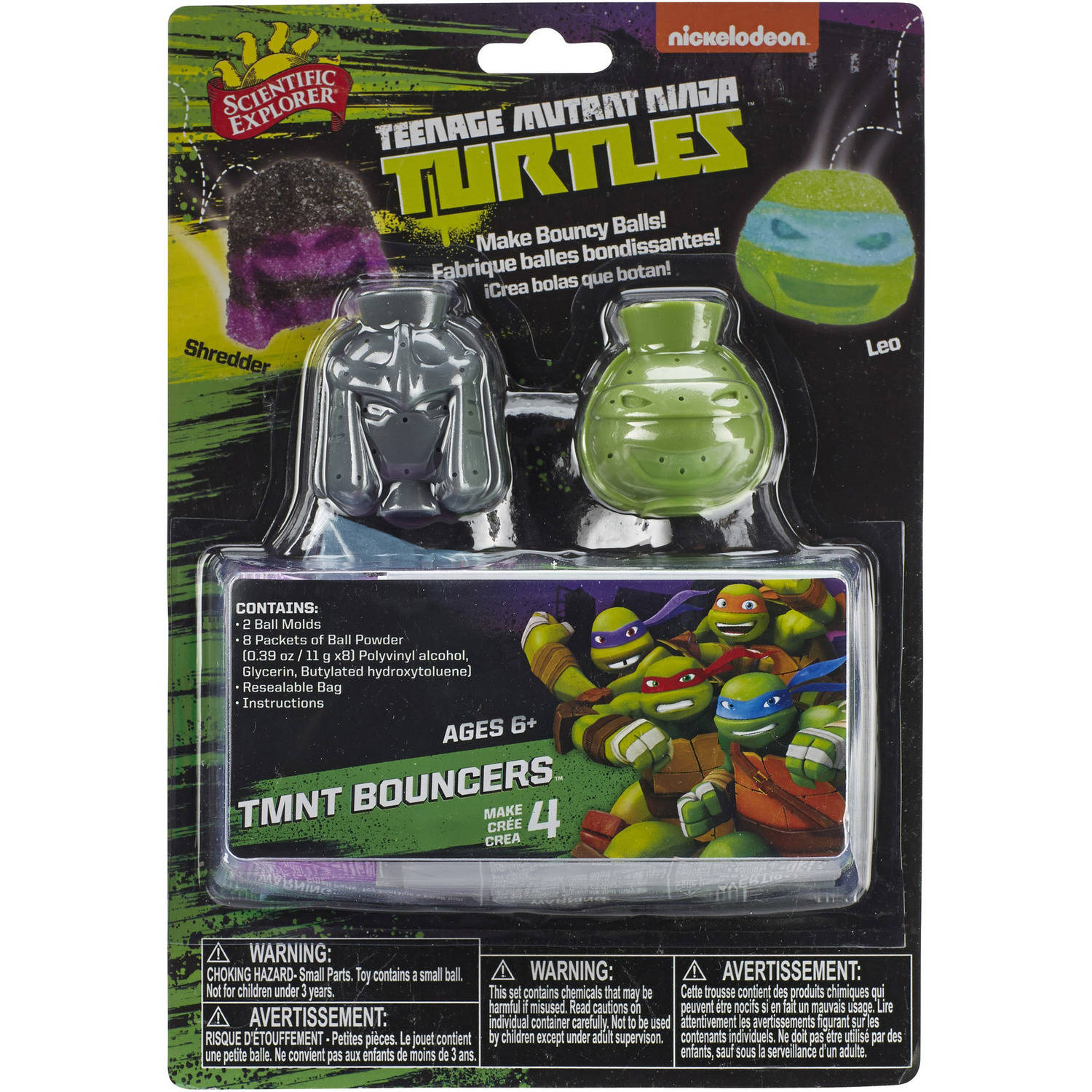 Scientific Explorer Teenage Mutant Ninja Turtles Bouncers