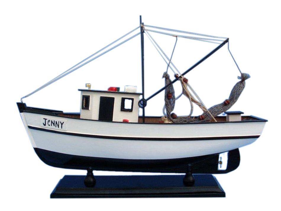 "Click here to buy Forrest Gump Jenny Shrimp Boat 16"" Forrest Gump Model Boat Model Shrimp Boat From Forrest Gump Famous Model Boat Sold Fully Assembled... by Hampton Nautical."