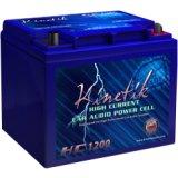 Kinetik 40923 Hc Blu Series Battery (hc1200, 1,200 Watts, 40 Amp-hour Capacity, 12 - 1200 1600 1800 Series Battery
