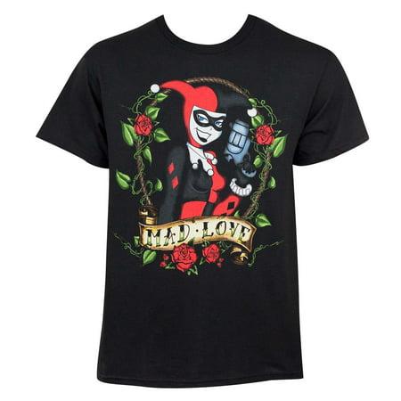 Harley Quinn Mad Love Tee Shirt - Harley Quinn Tutu