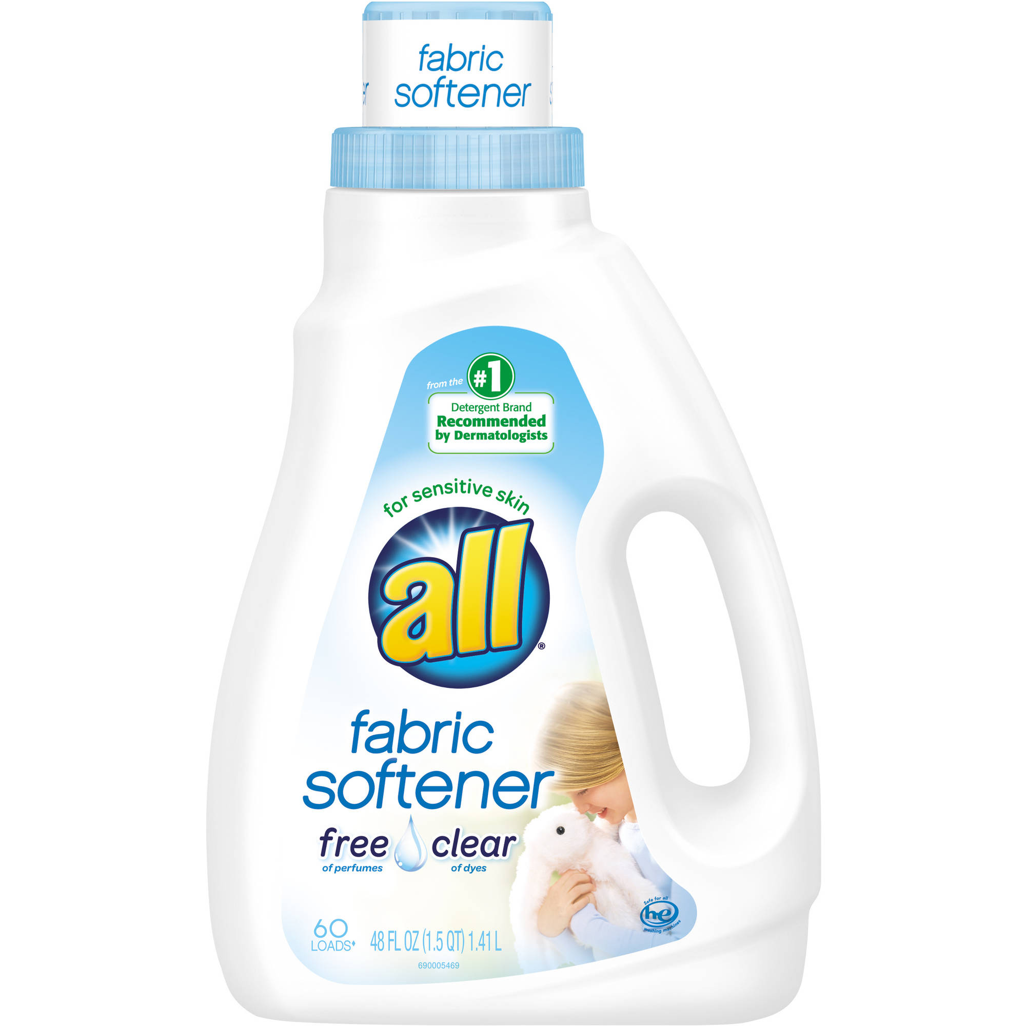 How Much Fabric Softener To Use All Free Clear Ultra Fabric Softener For Sensitive Skin 48 Fl Oz