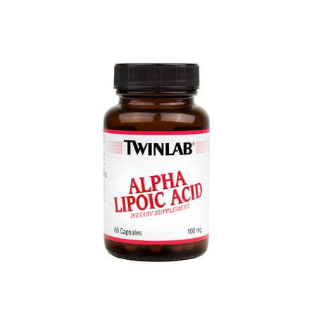 - Twinlab Alpha Lipoic Acid Capsules, 60 Ct
