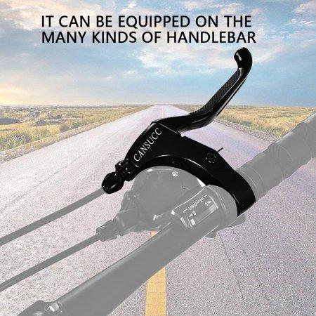 WALFRONT 1 Pair Mountain Bike Bicycle Anti-skid Brake Lever Bar Handle for 22.2mm Handlebar, Bike Brake - image 10 of 13