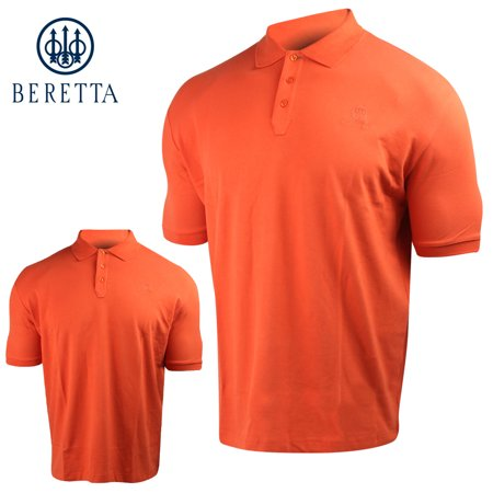 923479a6b Beretta - Beretta Signature Polo (M)- Fiesta Red - Walmart.com