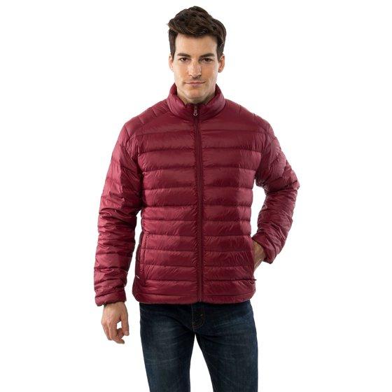 319ed1cddd9 Alpine Swiss - Niko Men's Down Jacket Puffer Bubble Coat Packable ...