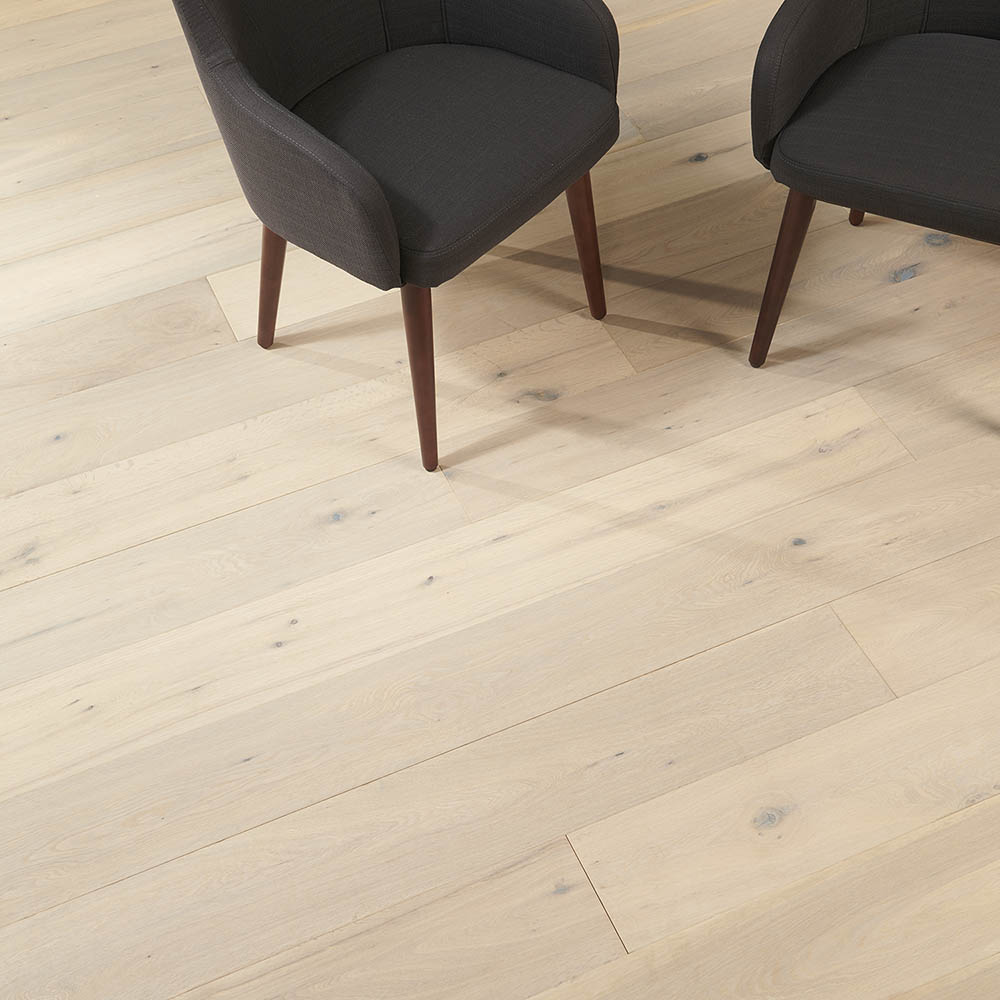 "SOLIDFLOOR Originals Collection Alaska FSC Oak Engineered Hardwood Plank, 19/32"" x 7-31/64""W"