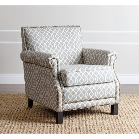 Devon & Claire Jester Pattern Club Chair, Multiple Colors Jester Club Chair