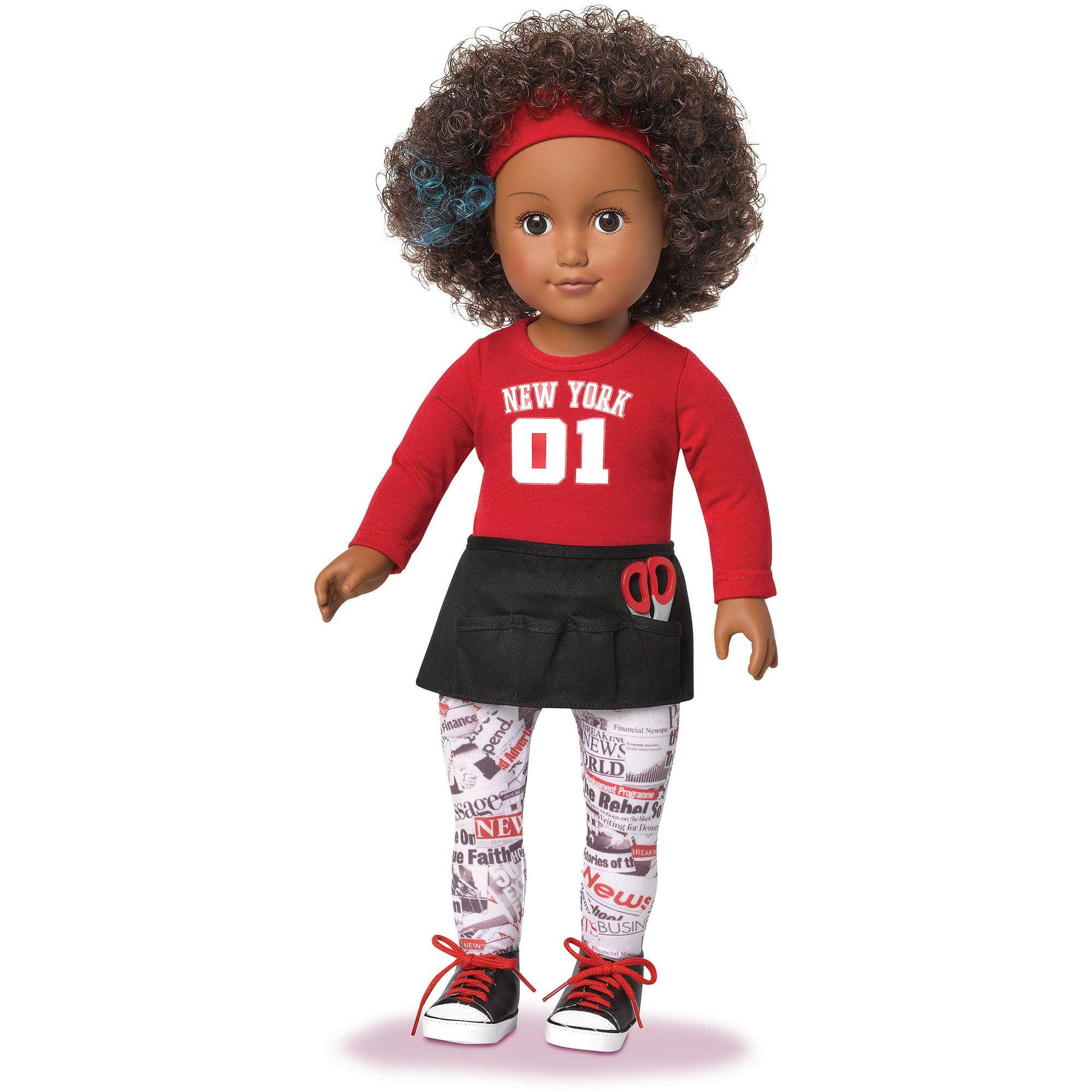 "My Life As Hairstylist 18"" Doll African American Walmart"