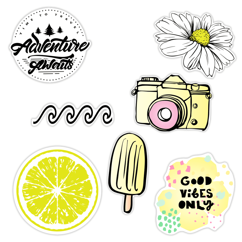 Happy Axolol Vinyl Sticker・Waterproof Stickers・Water Bottle Stickers・Car Stickers・Laptop Stickers・Weatherproof Stickers