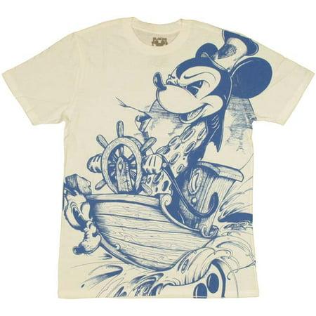 Volcom Sheer T-shirt - Mickey Steamboat T Shirt Sheer