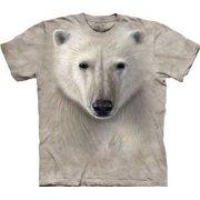 Polar Warrior Face Adult T-Shirt 10-3215