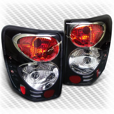 1999 2004 jeep grand cherokee black altezza tail light. Black Bedroom Furniture Sets. Home Design Ideas