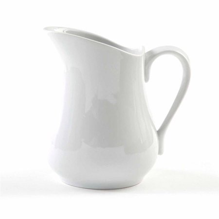 Gibson Studio Bistro Dining 1.5-Quart Pitcher, White