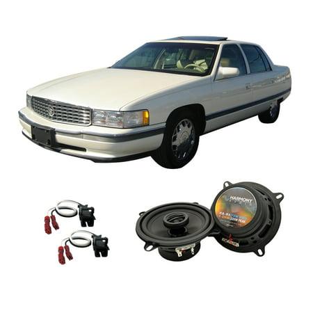 Cadillac Deville Door Handle - Fits Cadillac DeVille 1990-1995 Front Door Replacement Harmony HA-R5 Speakers