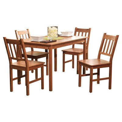 Simple Living  Bamboo 5-piece Dining (Bamboo Dining Sets)