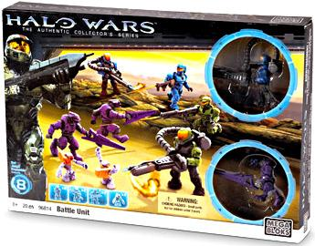Halo Battle Unit Set Mega Bloks 96814 by