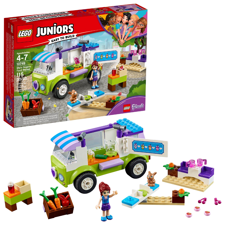 LEGO Juniors Mia's Organic Food Market 10749 (115 Pieces)