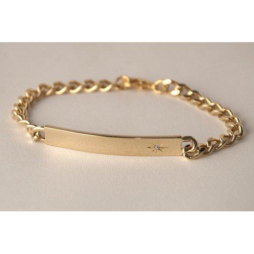 Speidel Ident Ladies Rectangular Bracelet
