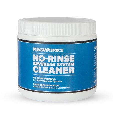 Beverage System Cleaners (KegWorks No-Rinse Beverage System Cleaner)