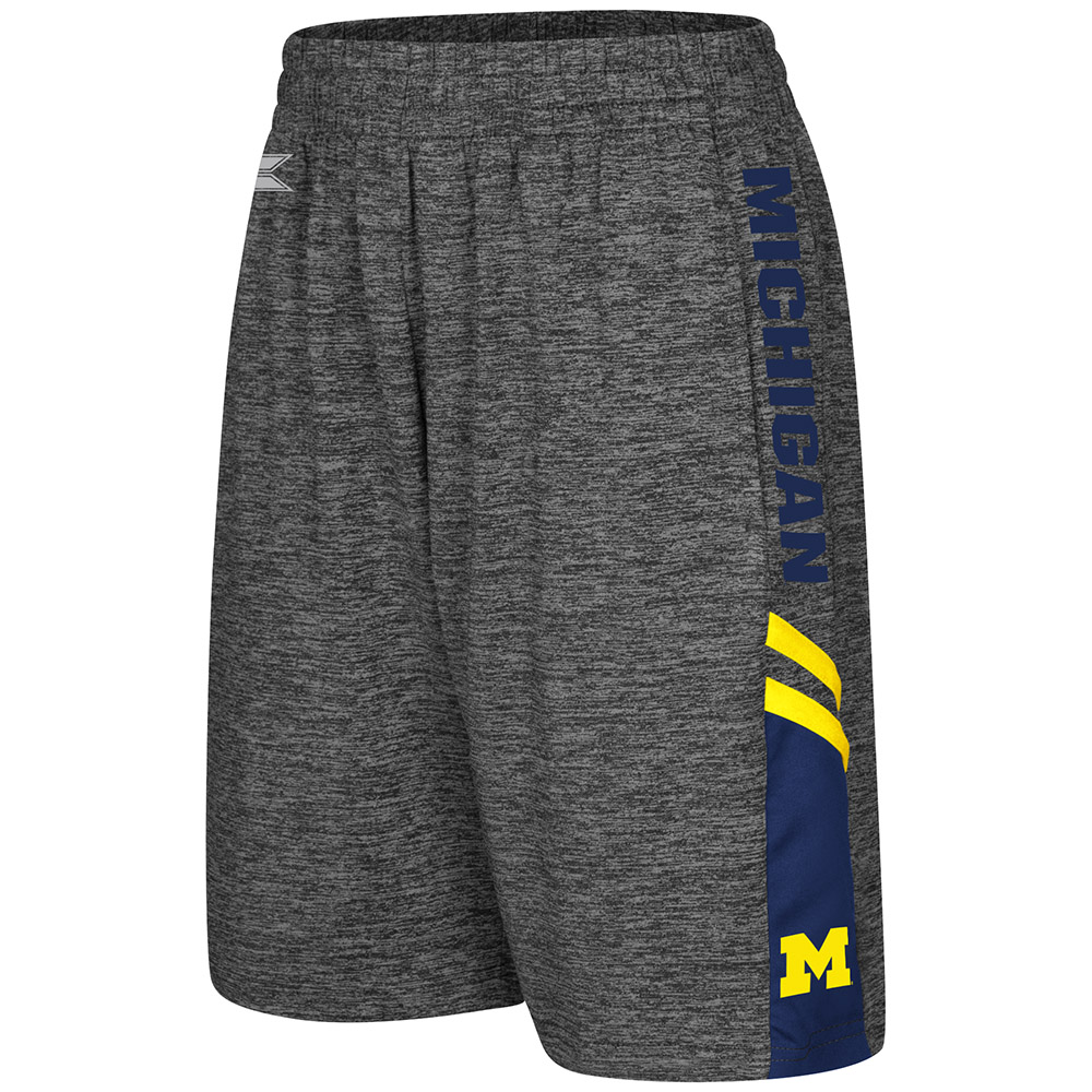 """Michigan Wolverines Youth NCAA """"Summertime"""" Performance Training Shorts"""
