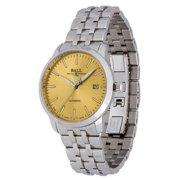 Ball Legend Automatic Stainless Steel Mens Watch Gold Dial Date NM2030D-SJ-GO