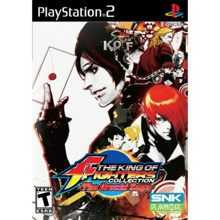 King of Fighters: Orochi Saga PS2 (King Of Fighters Maximum Impact 2 Ps2)