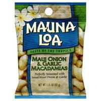 Mauna Loa Maui Onion & Garlic Macadamias, 1.15 Oz.